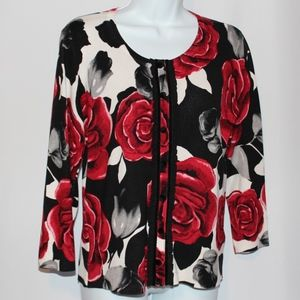 White House Black Market Rose sweater